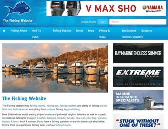 fishing.net.nz screenshot