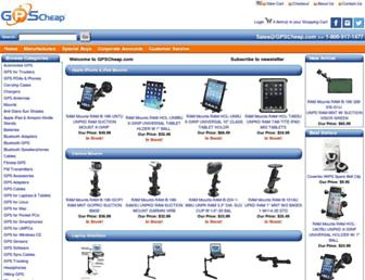 gpscheap.com screenshot