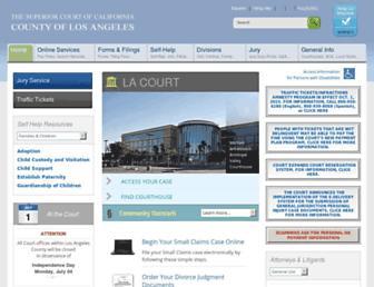 Thumbshot of Lasuperiorcourt.org