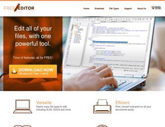 Thumbshot of Freeeditor.com
