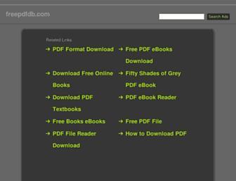 freepdfdb.com screenshot