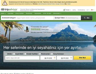 tripadvisor.com.tr screenshot