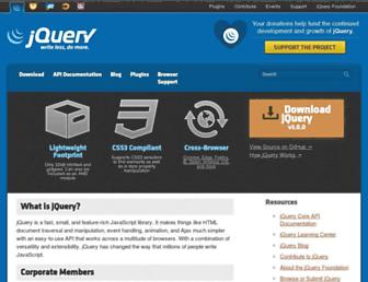 Thumbshot of Jquery.com