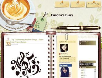 eunchasdiary.blogspot.com screenshot