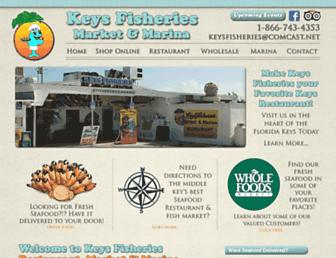 keysfisheries.com screenshot