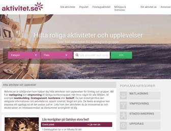 Thumbshot of Aktivitet.se