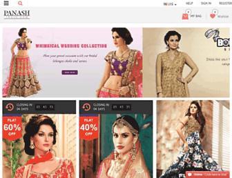 panashindia.com screenshot