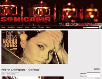 sonicamp.com screenshot