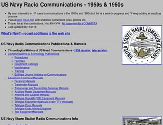 navy-radio.com screenshot