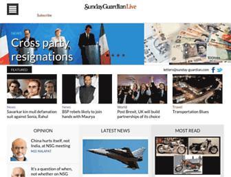 Thumbshot of Sunday-guardian.com