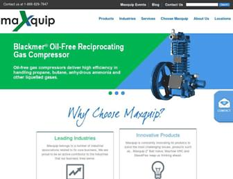 maxquip.ca screenshot