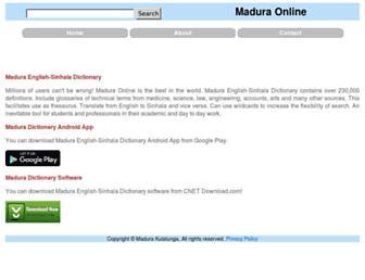 Thumbshot of Maduraonline.com