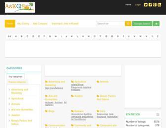 Main page screenshot of kuwaitbusiness.net
