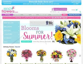 Thumbshot of Sendflowers.com