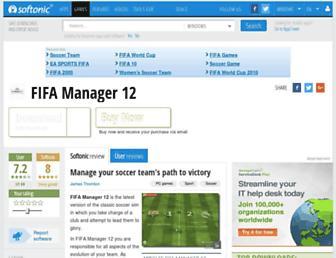 fifa-manager-12.en.softonic.com screenshot
