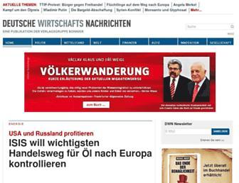 Main page screenshot of readers-edition.de