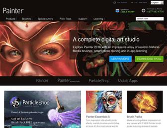 painterartist.com screenshot