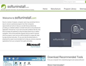 softuninstall.com screenshot