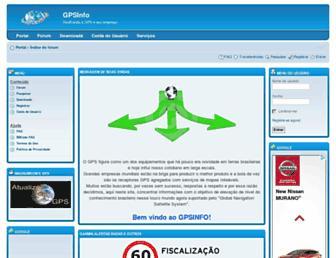 gpsinfo.com.br screenshot