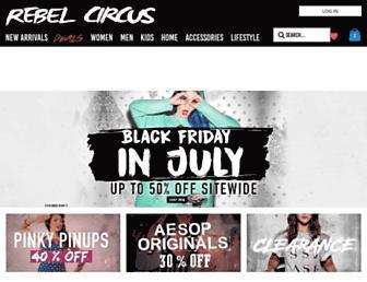 Thumbshot of Rebelcircus.com