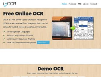 i2ocr.com screenshot