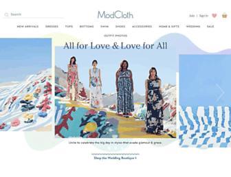 Thumbshot of Modcloth.com