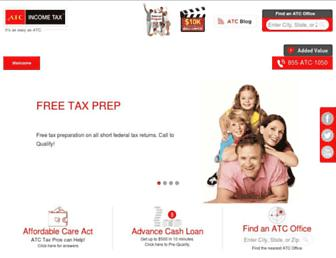 Thumbshot of Atcincometax.com