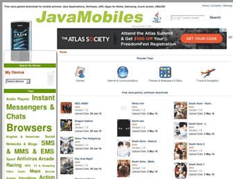 nokia-asha-202.java-mobiles.com screenshot