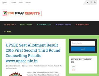 eduboardresults.in screenshot