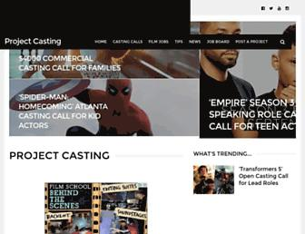 Thumbshot of Projectcasting.com