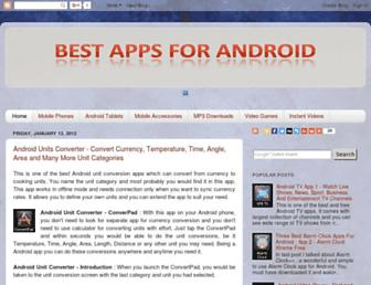 bestappsforandroid.blogspot.com screenshot