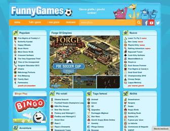 Screenshot for funnygames.it