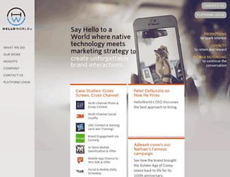 helloworld.com screenshot