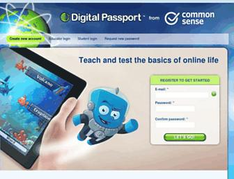 Thumbshot of Digitalpassport.org