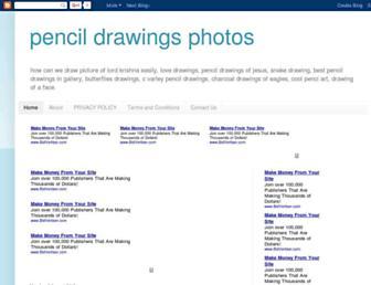 pencildrawingsphotos.blogspot.com screenshot