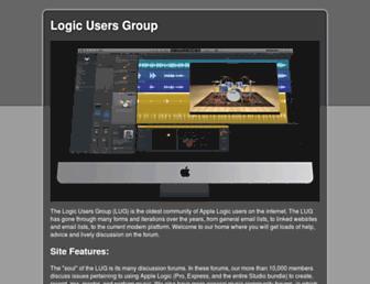 logic-users-group.com screenshot