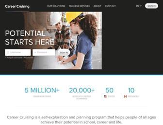 Thumbshot of Careercruising.com
