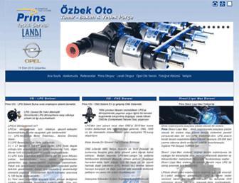 ozbekservis.com screenshot