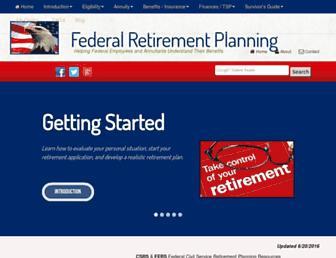 federalretirement.net screenshot
