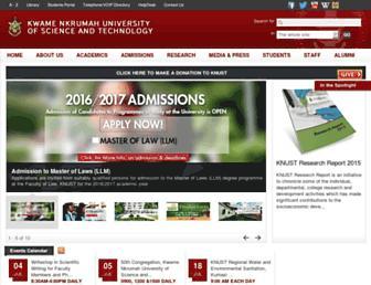 Thumbshot of Knust.edu.gh