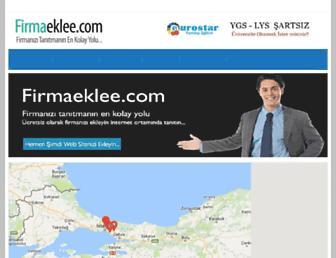 firmaeklee.com screenshot