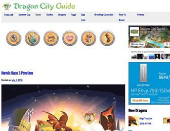 dragoncityguide.net screenshot
