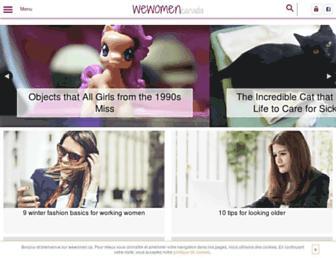 Thumbshot of Wewomen.ca