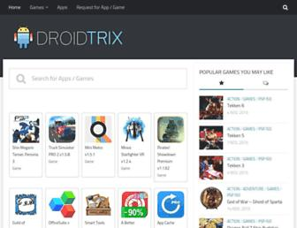 droidtrix.net screenshot