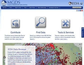 marine-geo.org screenshot