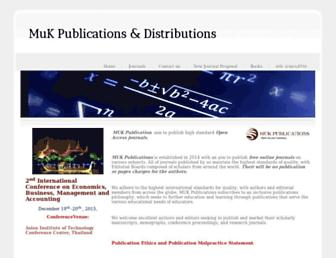 mukpublications.com screenshot