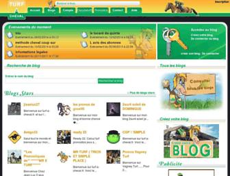 blog.turf-a-cheval.fr screenshot