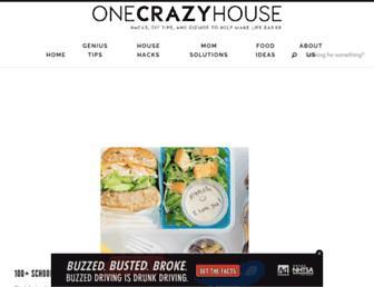 onecrazyhouse.com screenshot