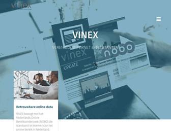vinex.nl screenshot