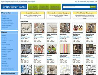 printmasterpacks.com screenshot